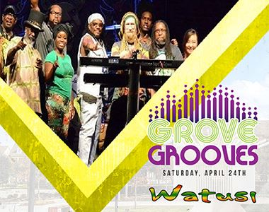 Grove Grooves Outdoor Free Music featuring Watusi