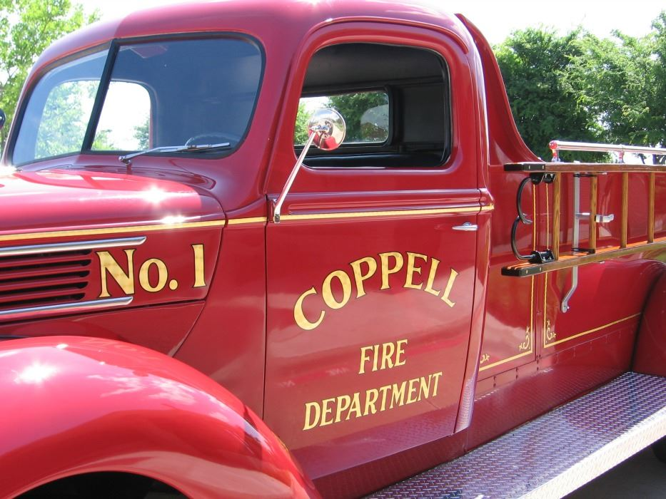 Coppell Vintage Fire Truck