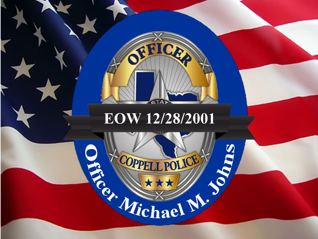 Officer Michal Johns - End of Watch December 28, 2001